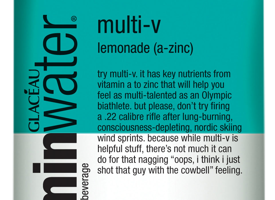 vitaminwater winter olympic labels